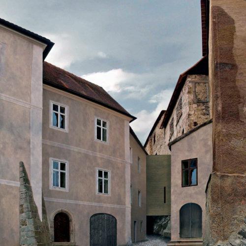 obnova hradu Bečova