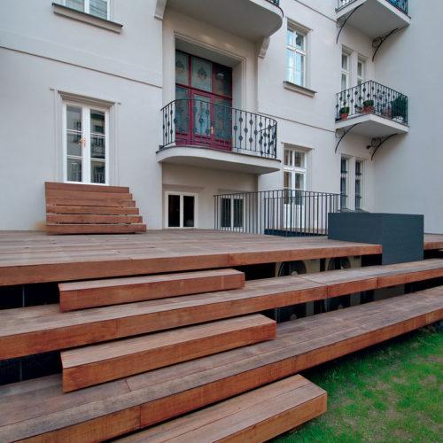 rekonstrukce domů Janáčkovo nábřeží