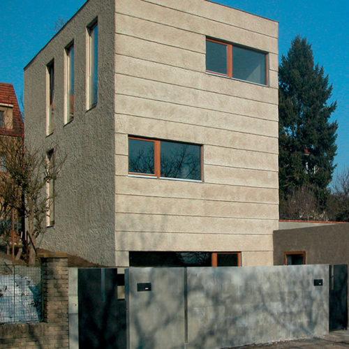 novostavba rodinného domu v Jinonicích