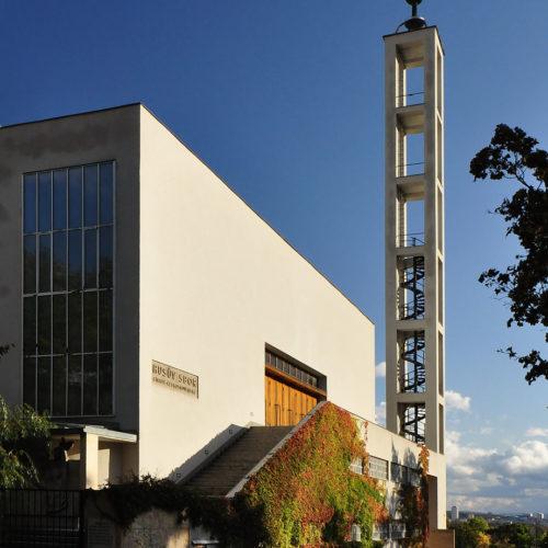rekonstrukce Husova sboru