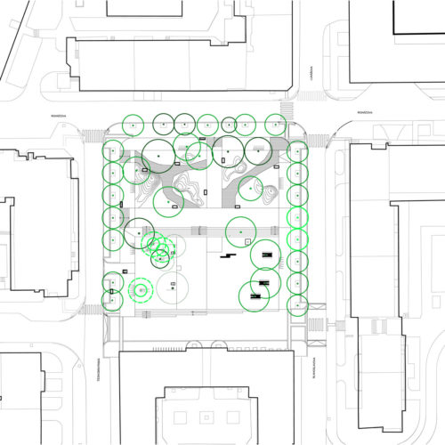 revitalizace Komenského náměstí v Praze