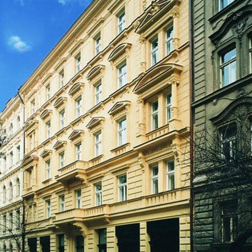 rekonstrukce domu Mánesova