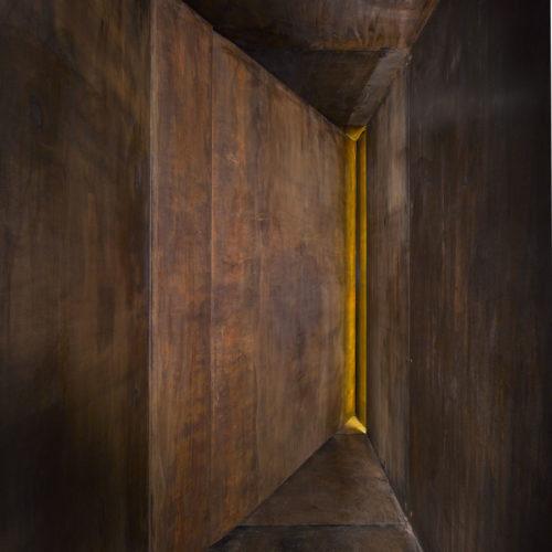 vstup do krypty – Národní památník hrdinům heydrichiády