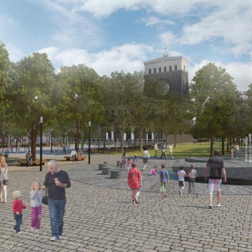 revitalizace náměstí Jiřího z Poděbrad