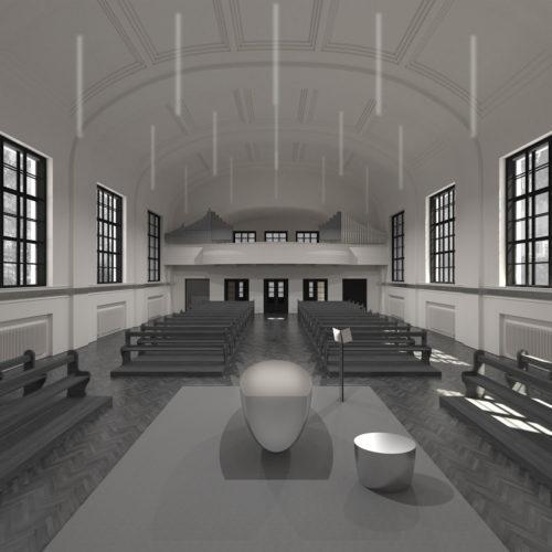 evangelický kostel na Smíchově
