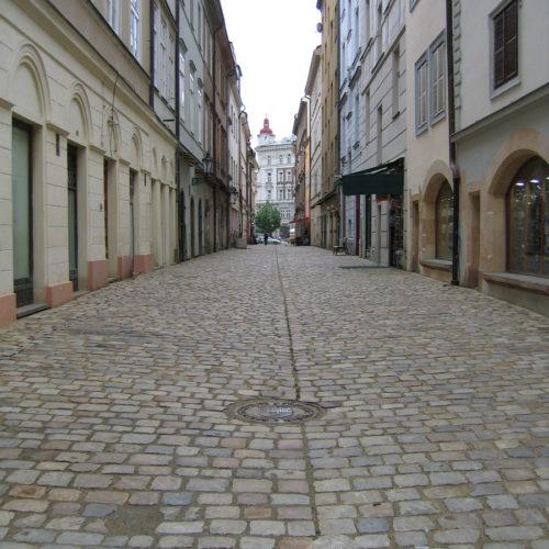 celková úprava ulice VKotcích